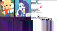 BerryTube Chat Reaction - Equestria Girls: Rollercoaster of Friendship (glitch art edition) by BerryTube Chat Reactions