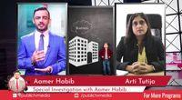 Anchor Person Aamer Habib Pakistani Journalist | International Journalist  Best Journalist, TV Presenter by Main aamerhabib channel